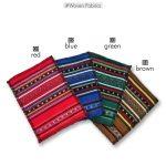 Διαθέσιμα υφάσματα για δερμάτινες τσάντες Greek Chic Handmades