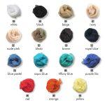Κορδέλες από μετάξι σε 15 χρώματα για σανδάλια Greek Chic Handmades