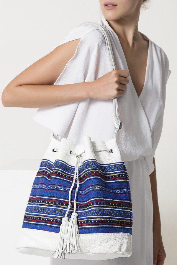 greek handmade bag