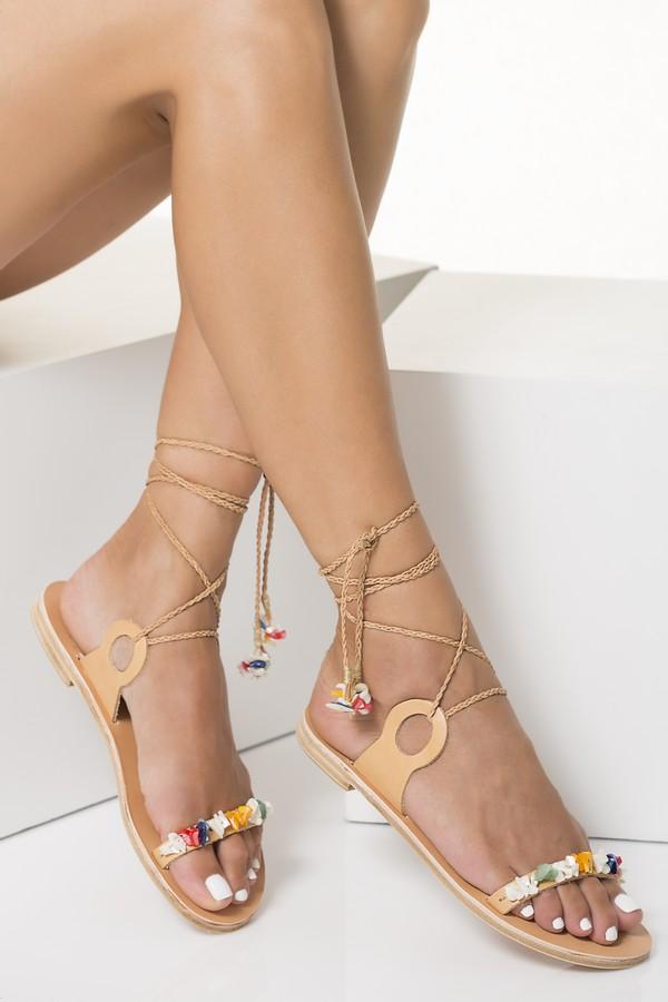 sandals for beach wedding