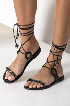 luxurious greek sandals