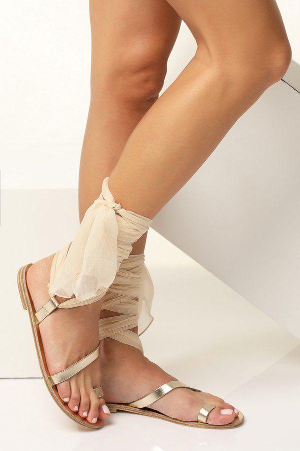 bridal sandals ivory