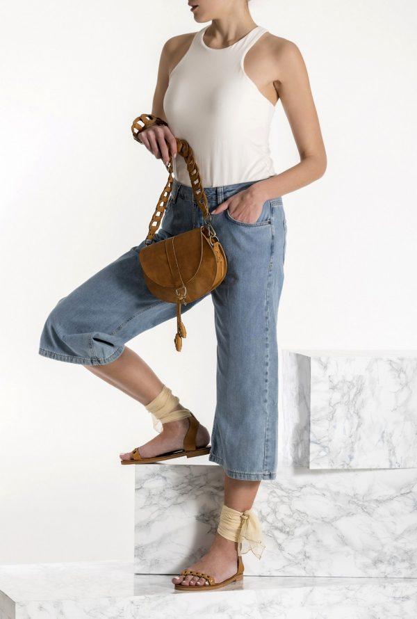 brown boho bag