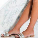 Greek Leather Flat Shoes
