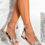 Metallic Wedding Sandals