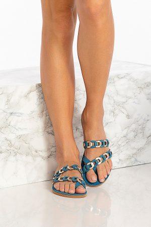 Blue Women's Sandals
