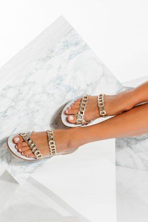 Metallic Women's Sandals