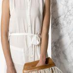 Greek handmade clutch bag