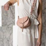 small nude bag