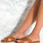 Leather Flats Women