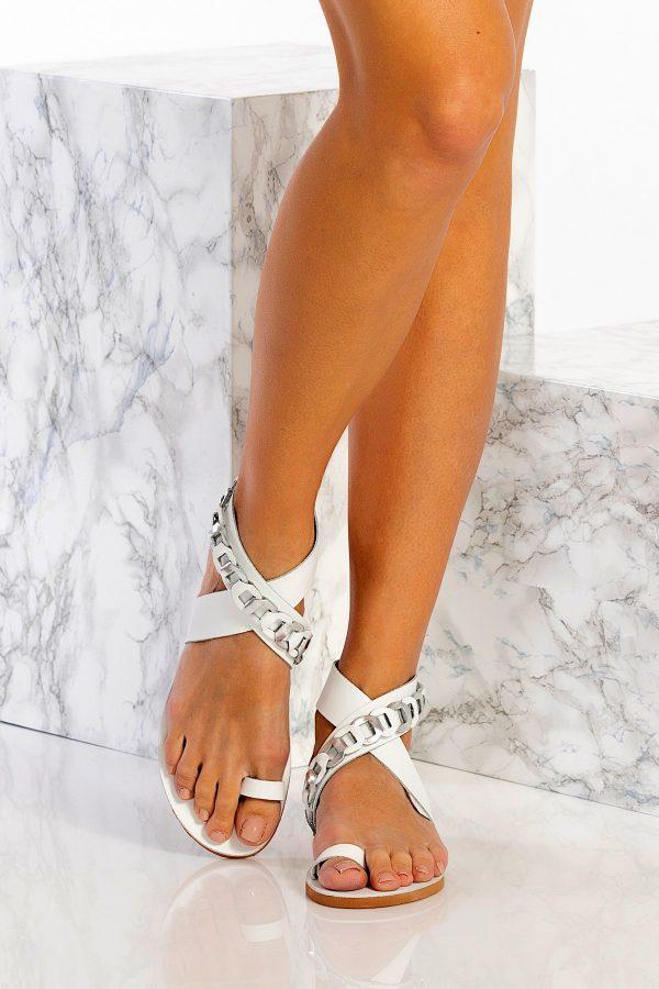 Wedding Ankle Wrap Sandals