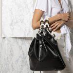 handmade Greek leather backpack