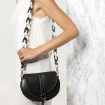 Black boho shoulder Bag