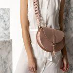 nude shoulder bag