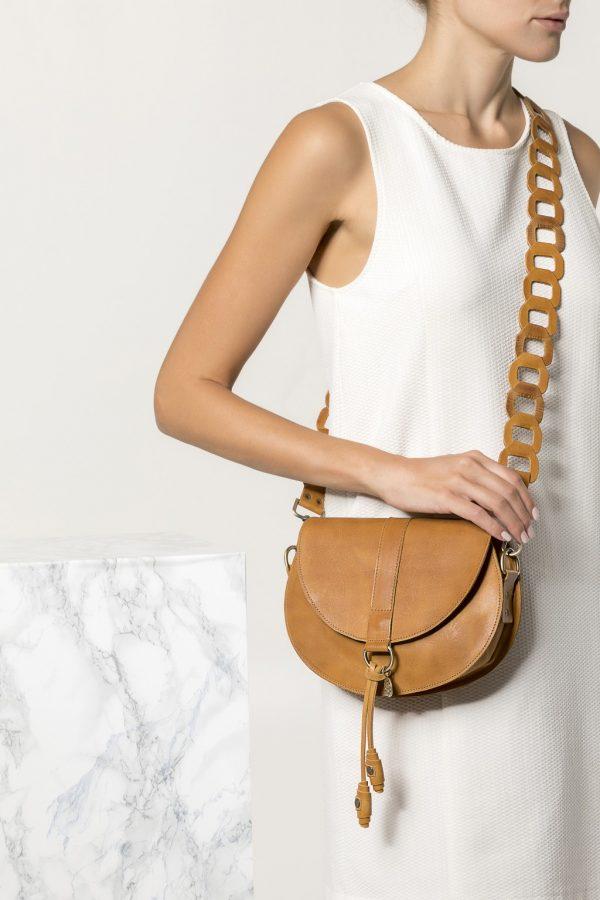 Women's Brown Crossbody Bag