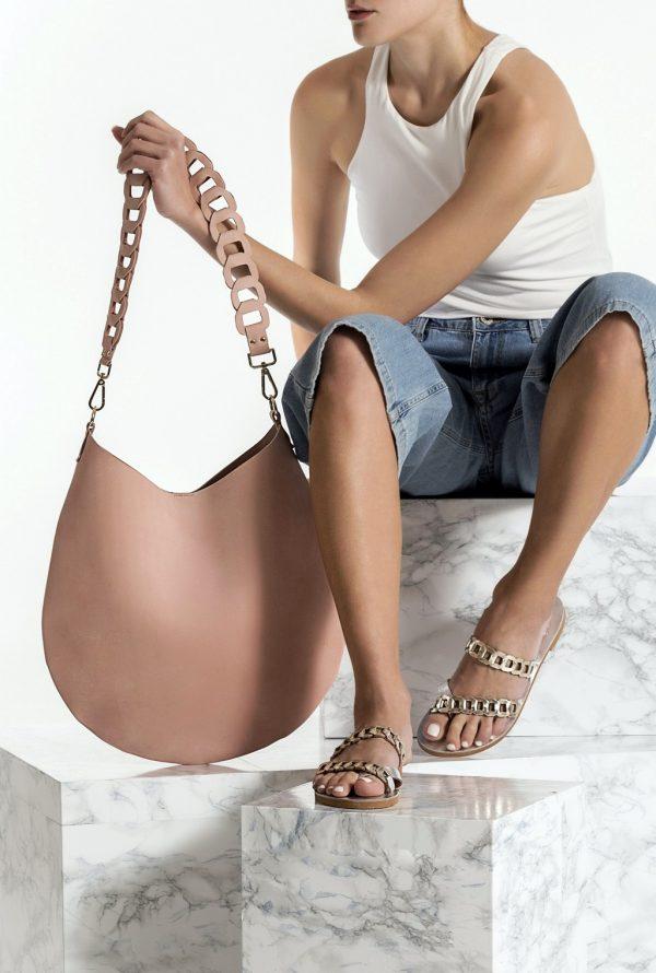 Cross-body Leather Bag