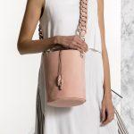 Pink Bucket Bag