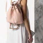 Δερμάτινο backpack nude