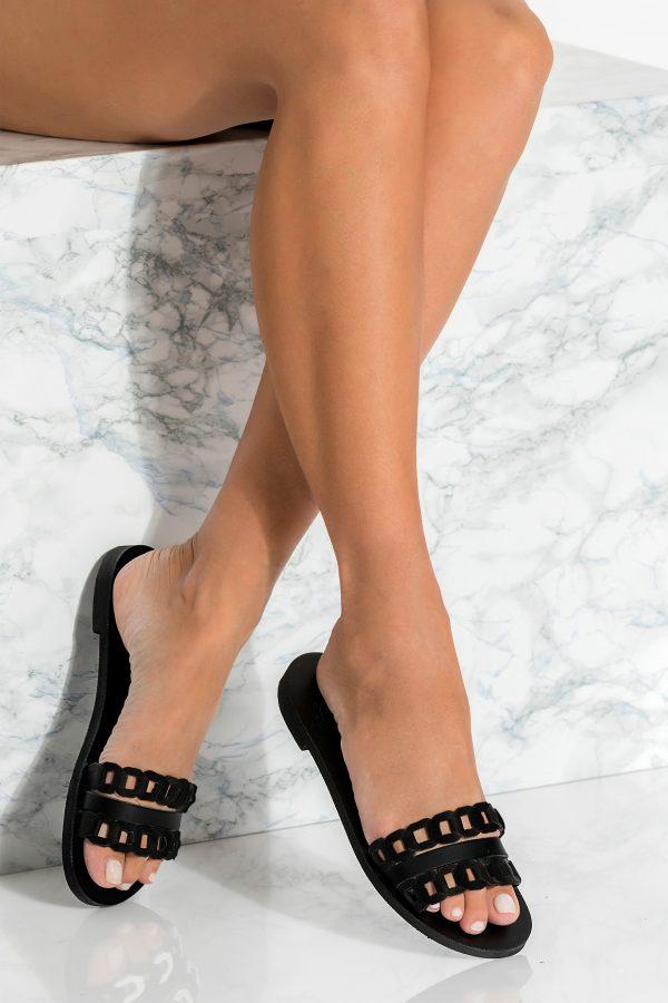 Black Sandals Greek