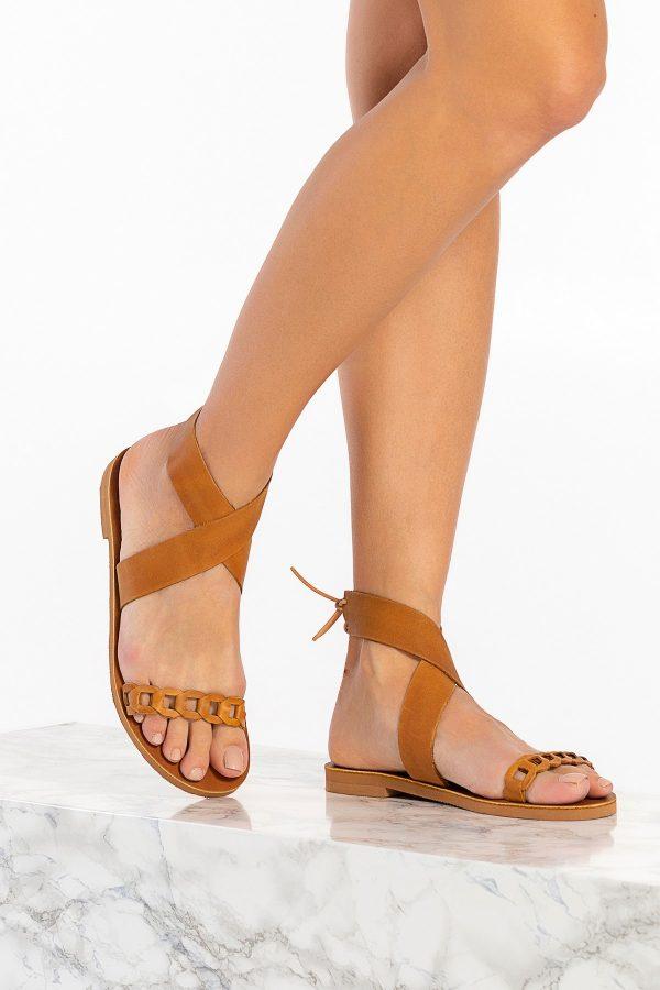 Summer Shoe Brown