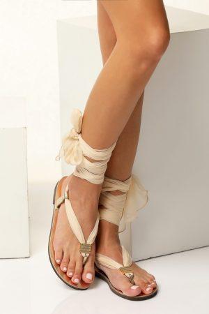 Bridal Ivory Sandals