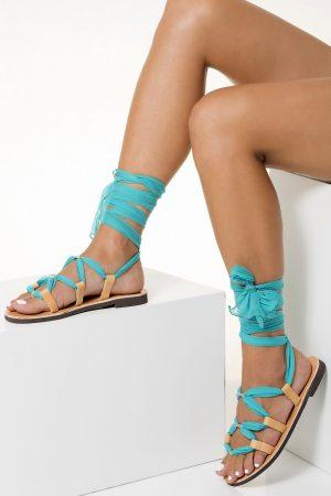 Beach Wedding Leather Sandals