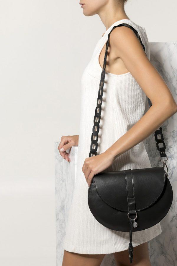 Black Purse Leather