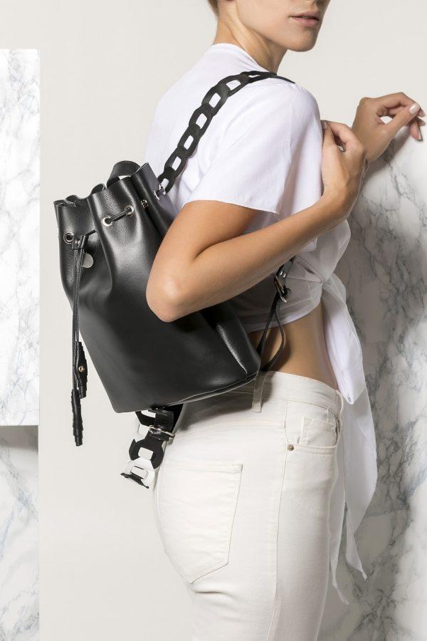 Black Backpack for Women