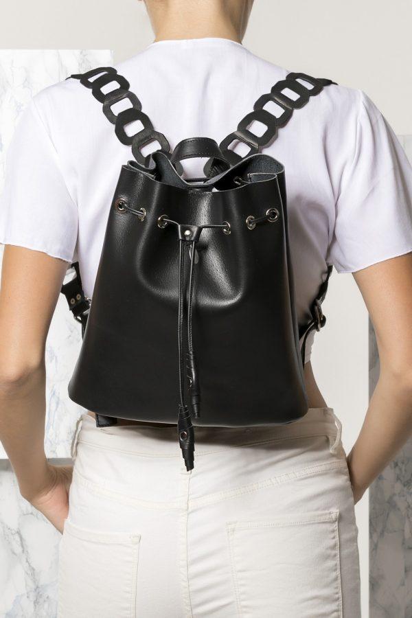 Black Backpack Women