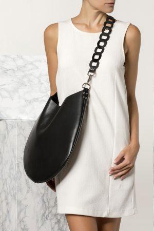 Μαύρη Boho γυναικεία τσάντα