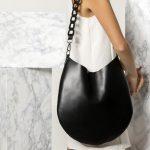 Black Leather Boho Bag