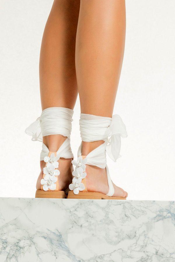 White Flats for Bride