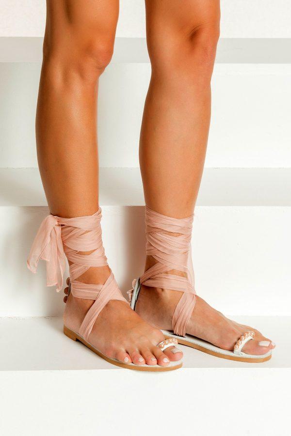 Bridal Sandals Blush