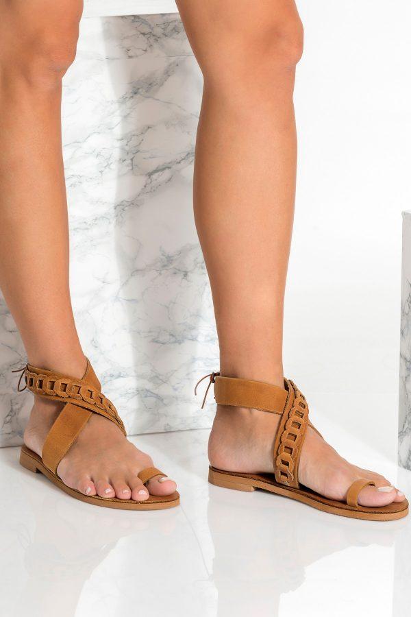 Greek Sandals Brown