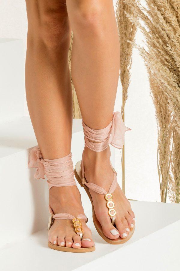 Blush Sandals for Wedding