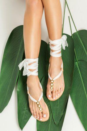 Boho Bridal Sandals