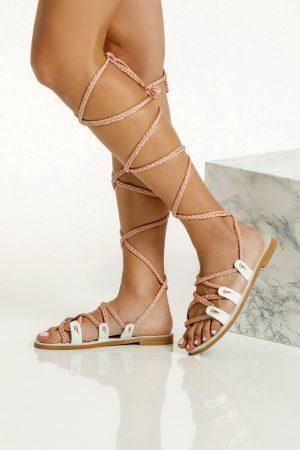 gladiator sandals for bride