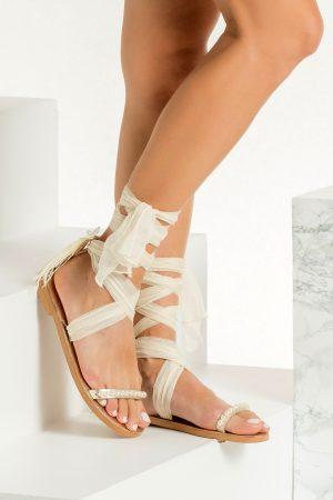 Sandals Ivory Wedding