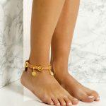 Δερμάτινο anklet