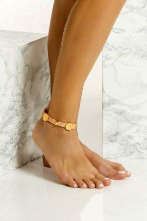 chunky anklet bracelet