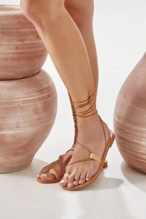Γυναικεία σανδάλια gladiator