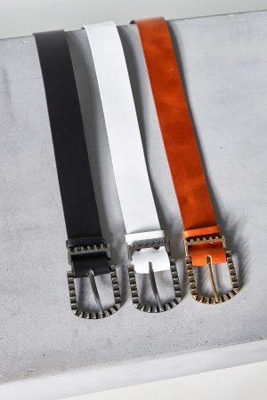 Simple Leather Belts Women