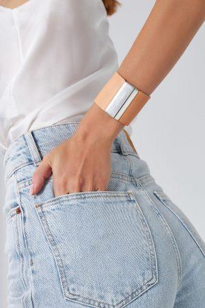 Women's Wide Leather Cuff