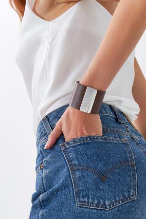 Women's Brown Leather Bracelet