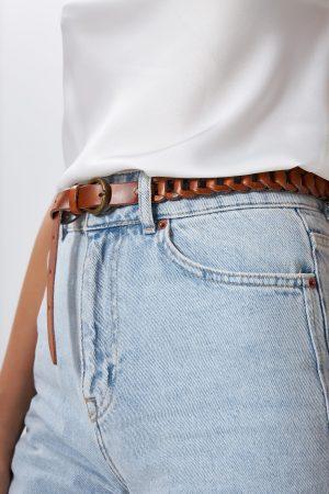 Brown Women's Belt