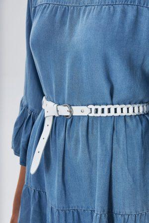 Handwoven Leather Belt