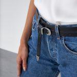 Black Leather Belts Women