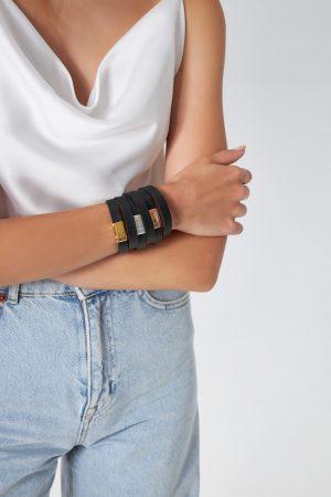 Boho Leather Bracelets Women