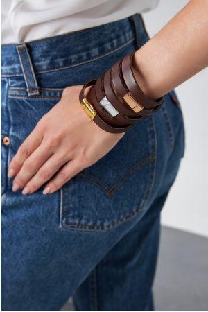 Brown Bracelets Woman