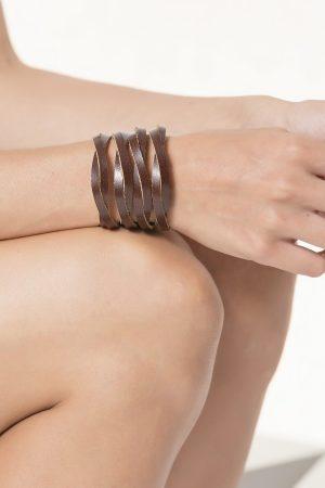 Brown Leather Bracelet